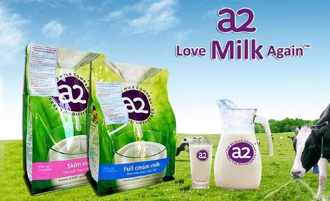 Sữa Tươi Nguyên Kem A2 - Sữa tăng cân cho bé 2 tuổi trở lên