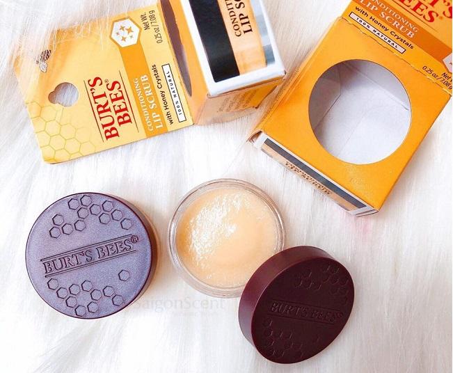 Tẩy da chết môi Burt's Bees Conditioning Lip Scrub