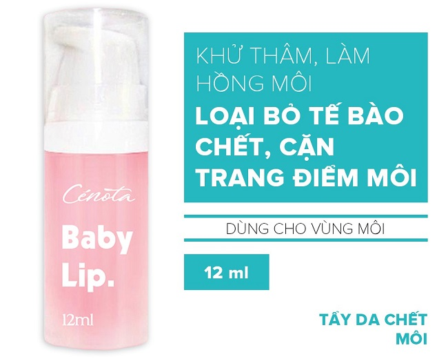 Tẩy tế bào chết môi Baby Lip 12ml