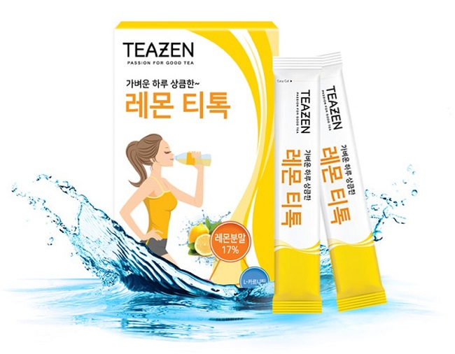 Trà giảm cân 4 vị Teazen – trà nhập khẩu Hàn Quốc