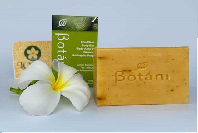 Xà Phòng Botani trị mụn lưng và kháng khuẩn hiệu quả