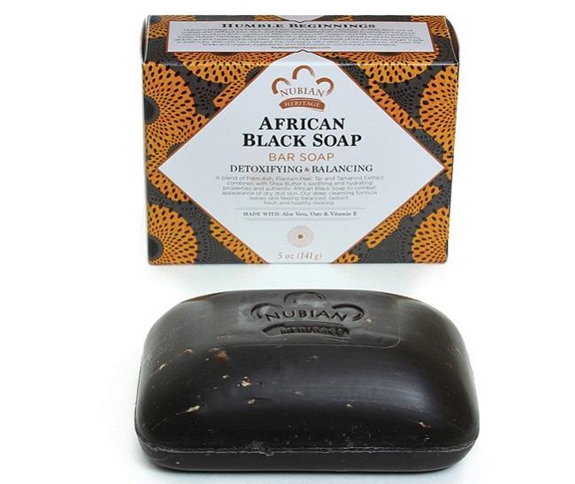 Xà phòng đen châu Phi Nubian African black soap