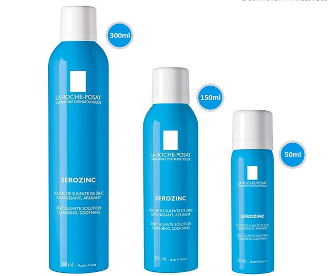 Xịt khoáng La Roche- Posay Serozinc Sulfate Solution Cleansing Soothing