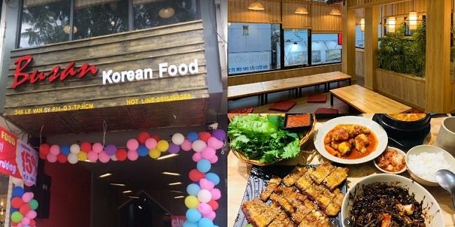 Busan Korean Food là địa điểm tổ chức sinh nhật đẹp