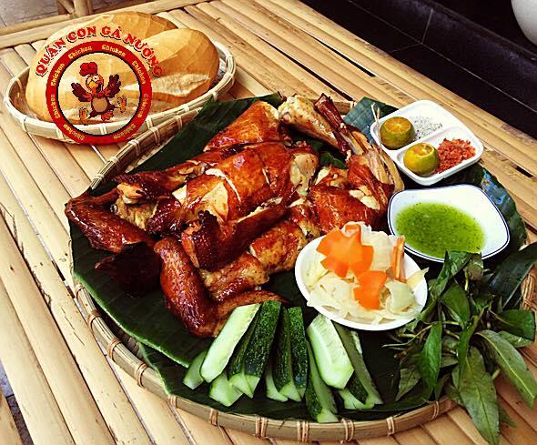 Con gà nướng quán ngon quận 10