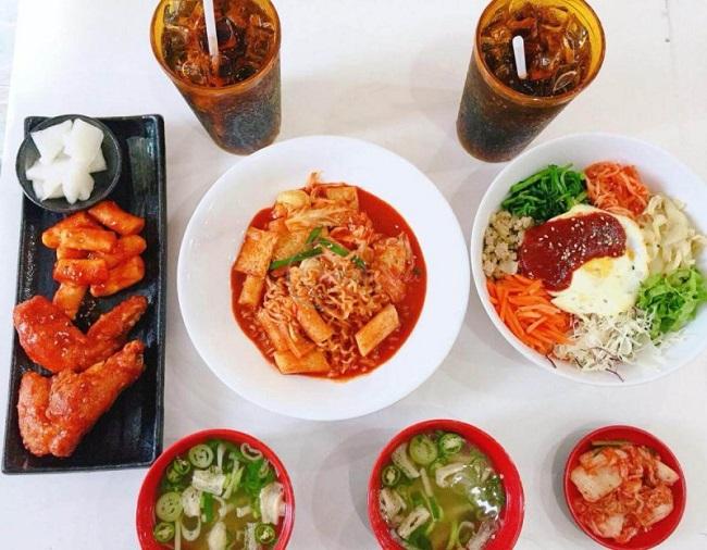 Nhà hàng Hàn Hallyu Korean Fast Food