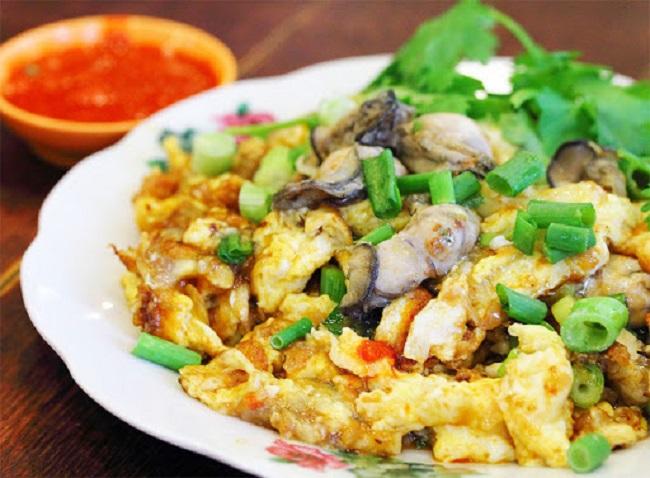 Hàu Chiên Trứng - Đồ Ăn Đêm Sài Gòn