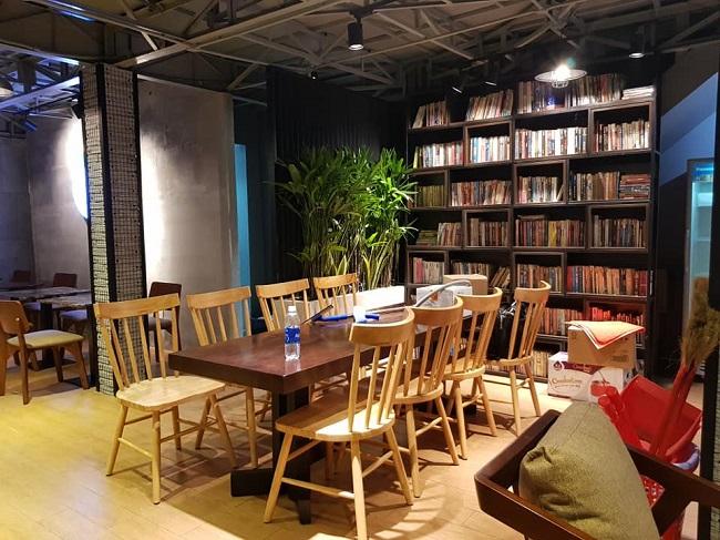 Hub Book Coffee là Quán Cà Phê Sài Gòn Đẹp
