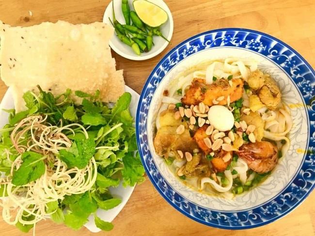 Mỳ quán ngon ở Sài gòn ở Mỳ Quảng Phố Hội