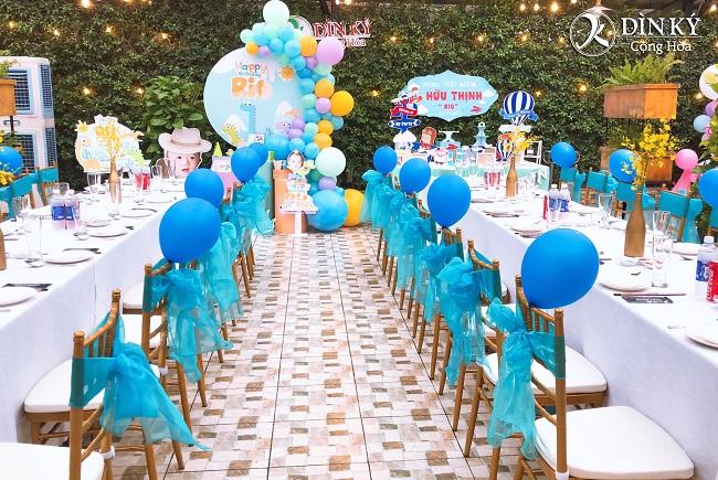 Nhà hàng Dìn Ký là nơi tổ chức sinh nhật lý tưởng