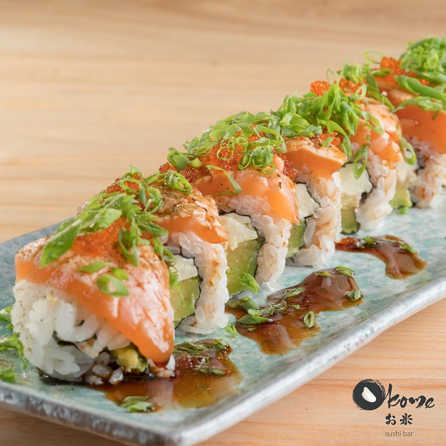 Okome Sushi Bar là nhà hàng Sushi ngon nổi tiếng