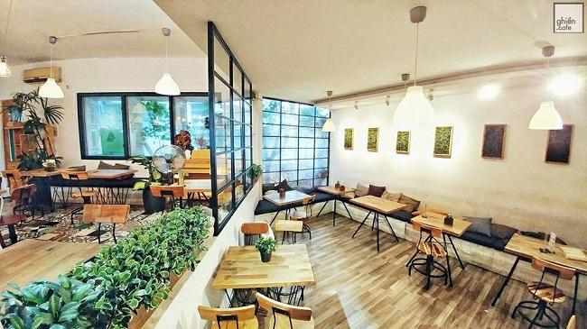 Quán cà phê yên tĩnh Oromia Coffee & Lounge