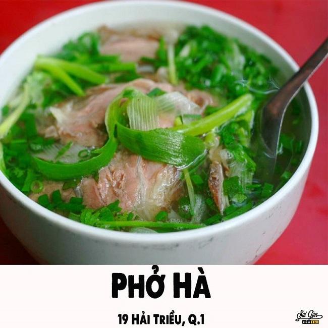 Phở Hà – Quán Ăn Mở Xuyên Đêm Sài Gòn