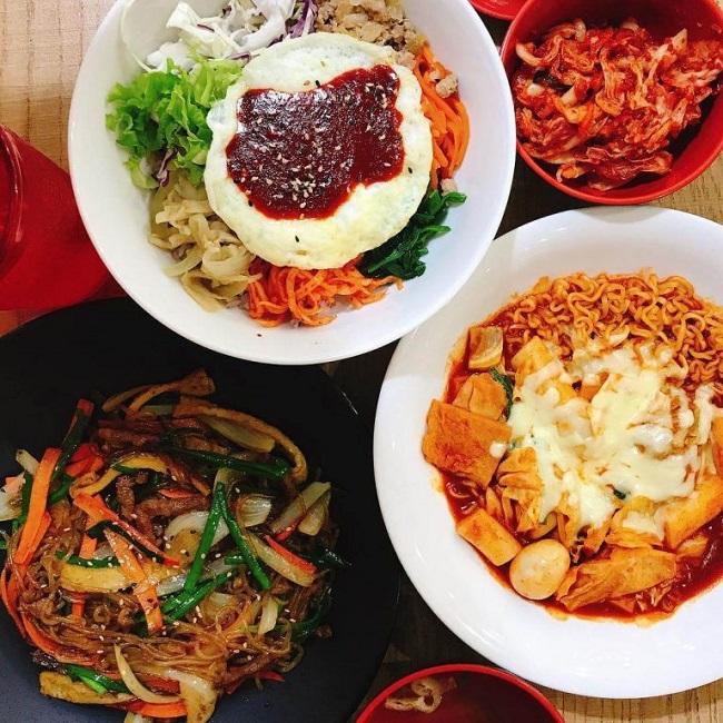Quán Mì Hàn Quốc là quán ăn quận 10 ngon