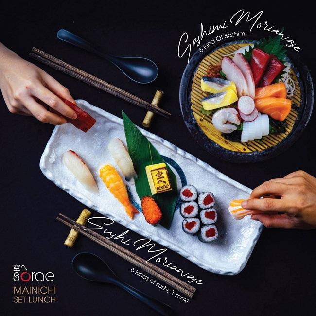 Sorae Sushi là nhà hàng sushi ngon ở quận 1