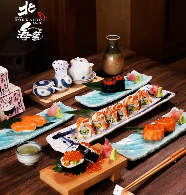 Sushi Hokkaido Sachi là nhà hàng sushi ngon ở Sài Gòn