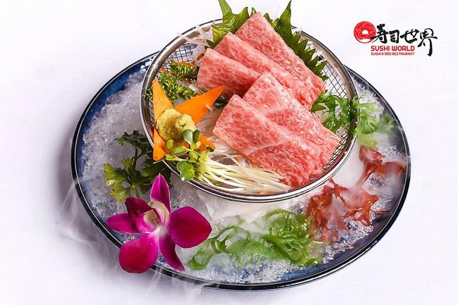 Sushi World – Nhà Hàng Sushi Nhật Ngon