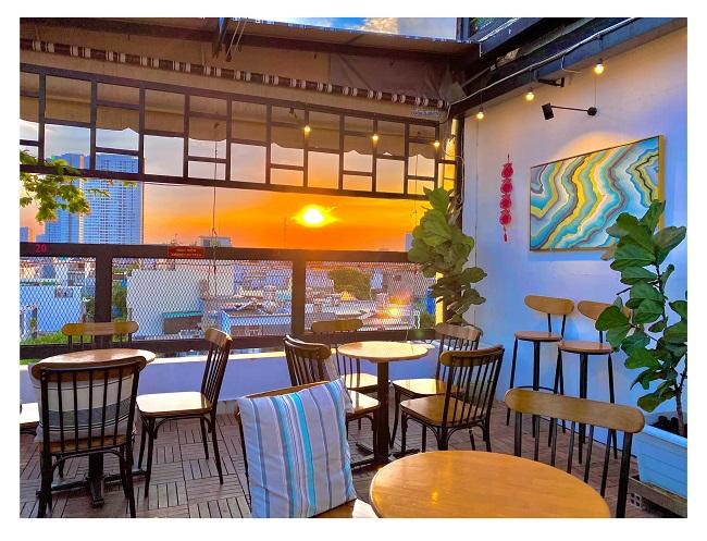 Quán cà phê đẹp tại quận 12 Sweet House Coffee