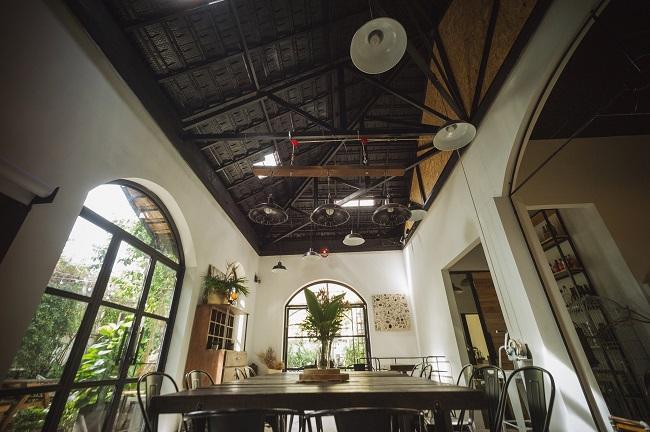 The Open Space là quán cafe yên tĩnh Sài Gòn
