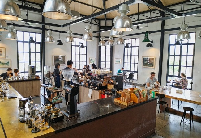 The Workshop - quán cafe yên tĩnh để làm việc
