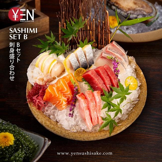 Yen Sushi & Sake Pub – Nhà Hàng Nhật Ngon Nhất Tại Sài Gòn