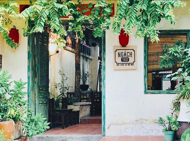 Quán cafe Ngách 160