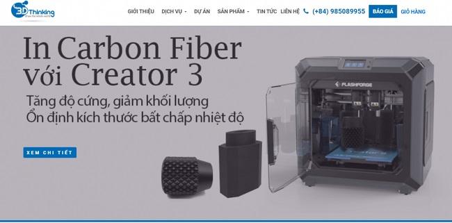 Dịch vụ in 3D Thinking tại Hà Nội