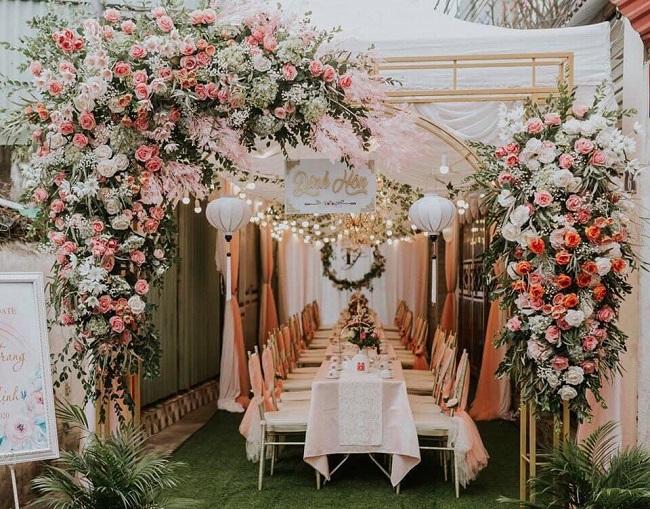Áo cưới Xinh Xinh - dịch vụ trang tri tiệc cưới ở TPHCM