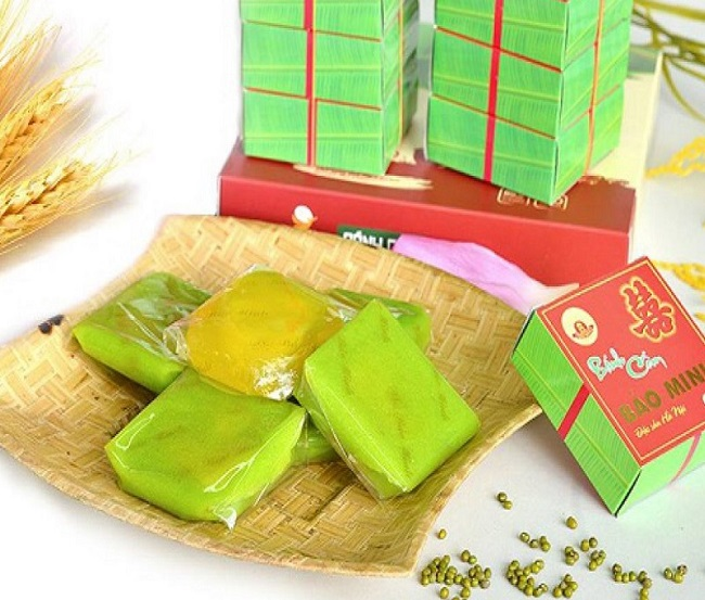 Bánh Cốm Hà Nội - món ngon Hà Nội