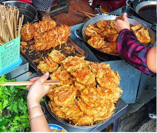 Bánh Tôm Hà Nội - món ăn ngon ở Hà Nội
