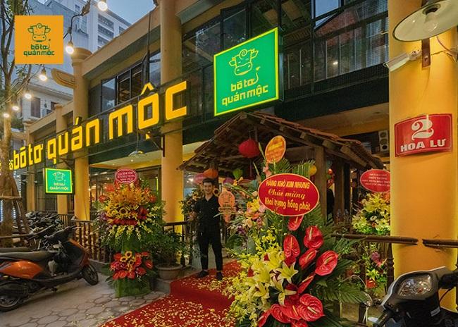 Bò Tơ Quán Mộc - quán nhậu ngon Hà Nội