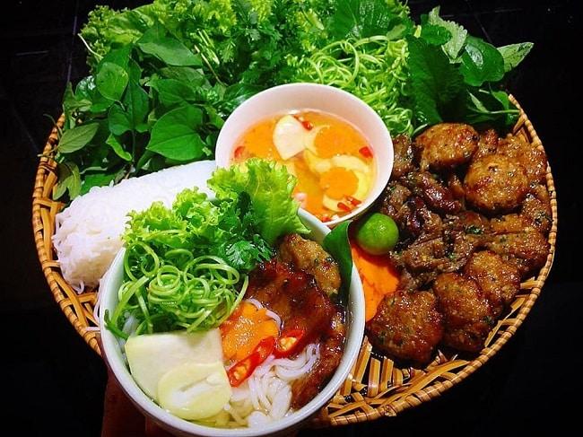 Bún Chả Hà Nội - món ăn ngon ở Hà Nội