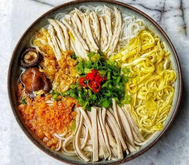 Bún Thang Hà Nội - món ăn ngon ở Hà Nội