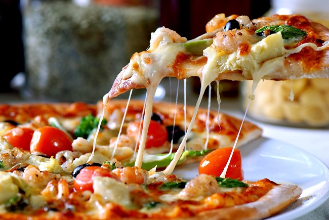 Capricciosa là pizza ngon ở Hà Nội