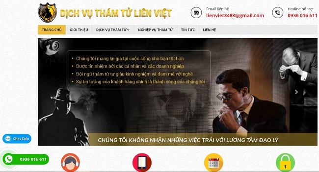 Thám tử Liên Việt - Dịch vụ thám tử Hà Nội