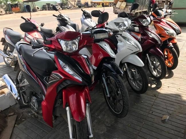 Dịch vụ thuê xe máy Bùi Thị Xuân - Quận 1