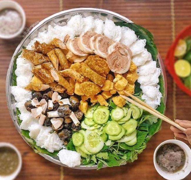 Bún đậu - Ăn trưa Hà Nội ngon