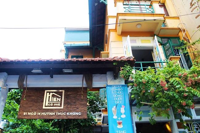 Hiên Cà Phê - quán cafe yên tĩnh ở Hà Nội