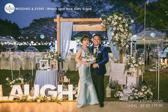 Kiss Wedding - dịch vụ trang trí tiệc cưới TPHCM uy tín