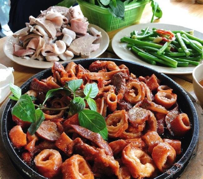 Lòng Rán Hà Nội - món ăn hấp dẫn ở Hà Nội