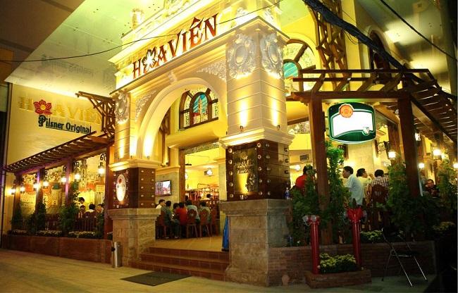 Nhà hàng Hoa Viên Craft Brewery - quán nhậu ngon Hà Nội