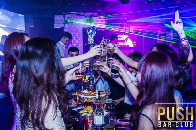 Push Club - Bar Hà Nội nổi tiếng
