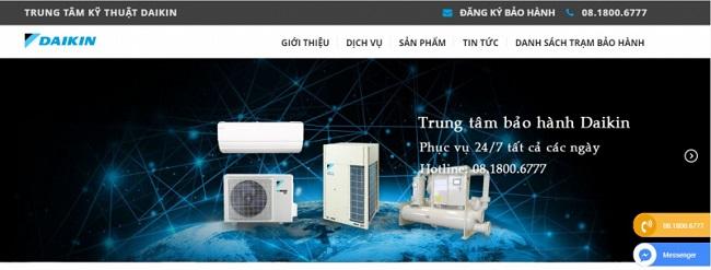 Trung tâm kỹ thuật Daikin Equip tại Hà Nội