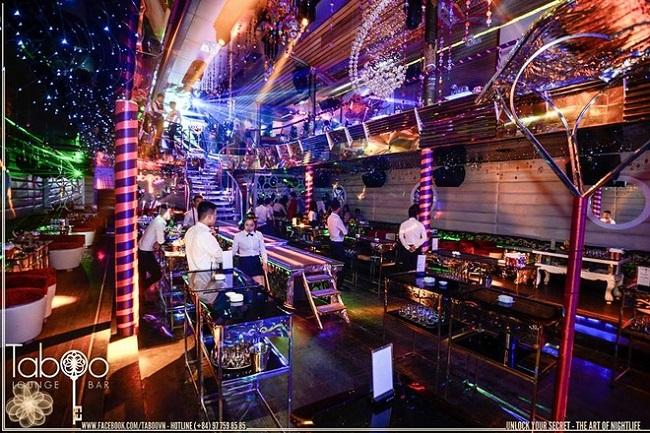 Taboo Lounge & Bar - quán bar Hà Nội nổi tiếng