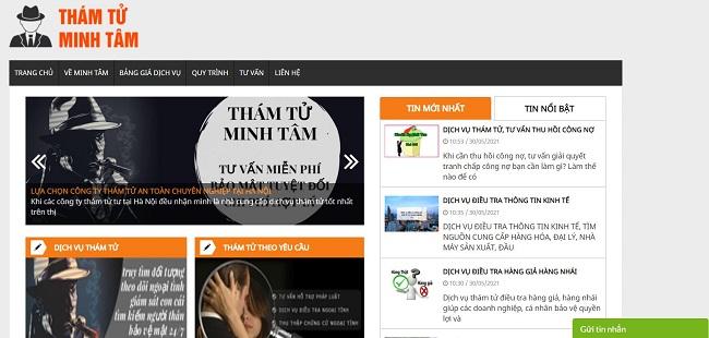 Dịch vụ thám tử Minh Tâm - dịch vụ thám tử Hà Nội
