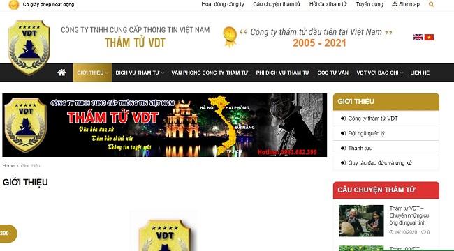 VDT - Công ty dịch vụ thám tử Hà Nội chuyên nghiệp
