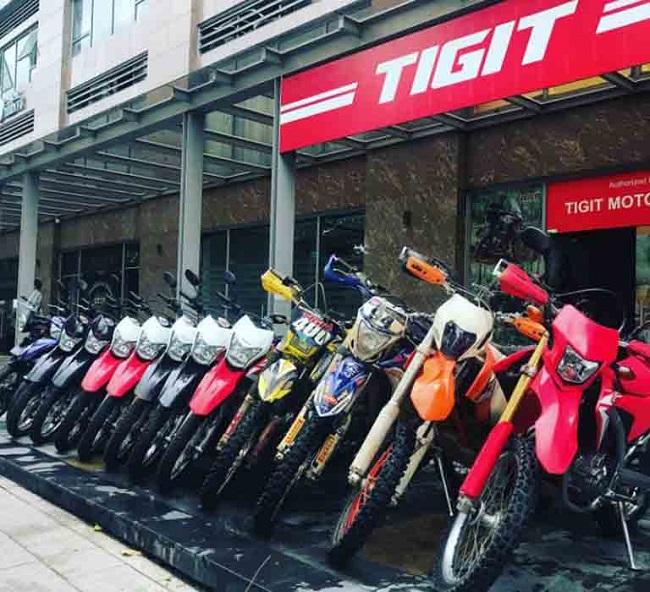 Thuê xe Tigit Motorbikes - Địa chỉ cung cấp dịch vụ thuê xe máy ở TPHCM