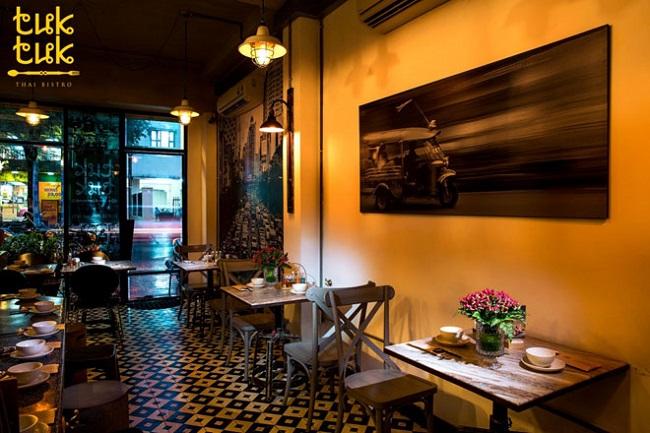 TukTuk Thai Bistro à nhà hàng Thái Lan nổi tiếng ở Sài Gòn