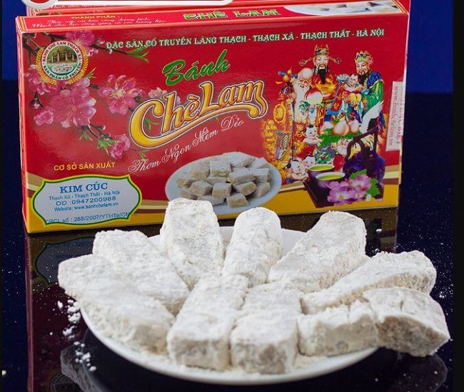 Bánh chè Lam Hà Nội đặc sản làm quà ý nghĩa