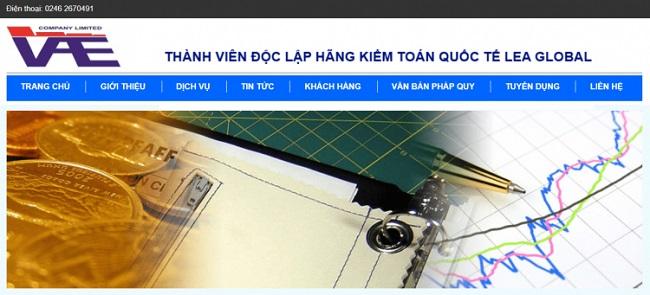 Công Ty TNHH Kiểm Toán Và Định Giá Việt Nam (VAE) – Công Ty Dịch Vụ Kế Toán Hà Nội